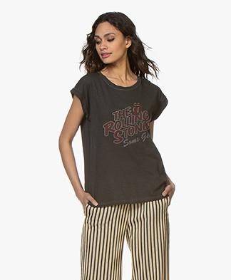 MKT Studio Tavez Rolling Stones T-shirt - Washed Black