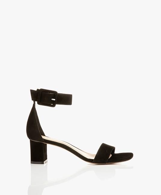 Black Filippa Heel 26104 Frances Suede Mid K Sandals 8371 6gyIbvmYf7