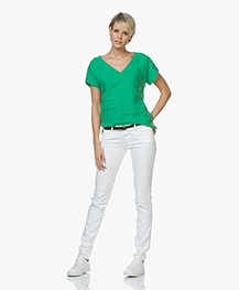 Closed Pedal Star Skinny Jeans - White