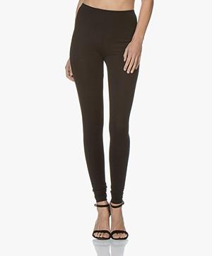 Kyra & Ko Mies Cotton Leggings - Black
