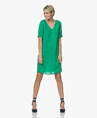 Kyra & Ko Ayla Linen Dress - Green