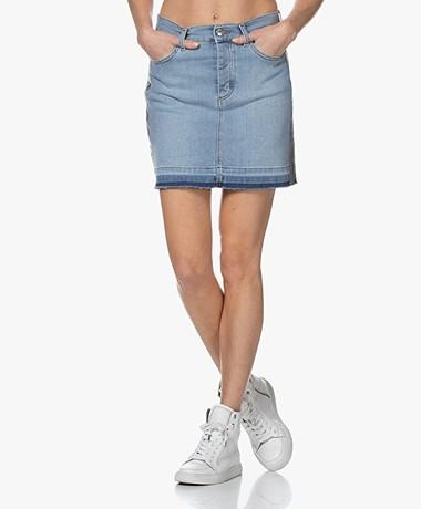Zadig & Voltaire Juicy Denim Skirt - Blue