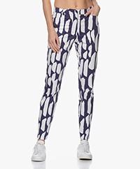 Kyra & Ko Espen Print Pantalon - Denim