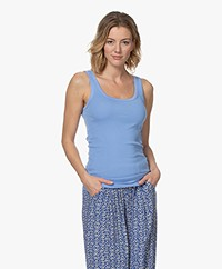 By Malene Birger Newdawn Tank Top - Pacific Blue