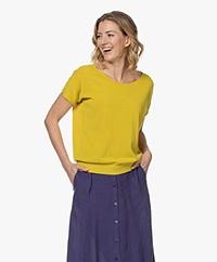 Kyra & Ko Julinde S/S Cotton Pullover - Kiwi