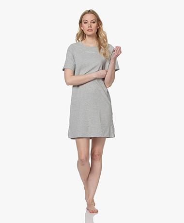 Calvin Klein Reconsidered Comfort Jersey Nachthemd - Grijs Mêlee