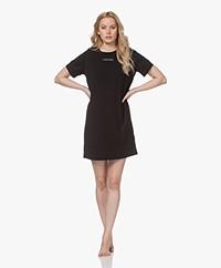 Calvin Klein Reconsidered Comfort Jersey Nachthemd - Zwart