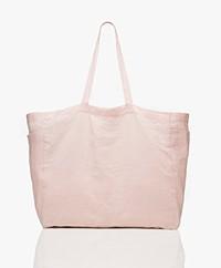 Monk & Anna Kyodaina Linnen Shopper - Soft Pink