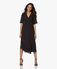 Filippa K Amalia Wrap Dress - Black