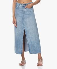 Denham Towada Millsboro Denim Midi Skirt - Blue