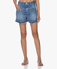 Closed Jocy X Denim Short - Donkerblauw