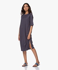 Filippa K Mira Lyocell T-shirt Dress - Ink Blue
