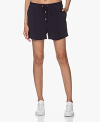 Filippa K Kelly Crepe Shorts - Navy