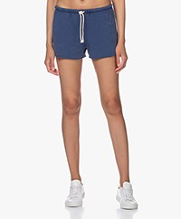 American Vintage Hapylife French Terry Short - Vintage Blue