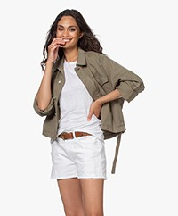 Rag & Bone Swingback Utility Jacket - Dusty Olive