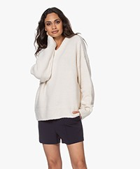 Filippa K Beatrice Oversized Trui - Off-white