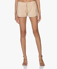 Filippa K Soft Sport Terry Jersey Short - Powder Beige