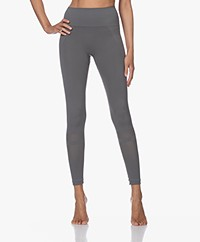 Filippa K Soft Sport Mesh Leggings - Green Grey