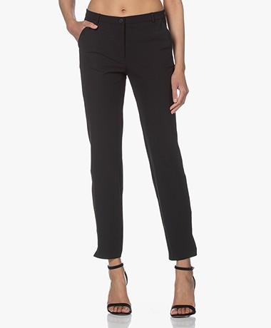 JapanTKY Sona Travel Jersey Pants - Deep Black
