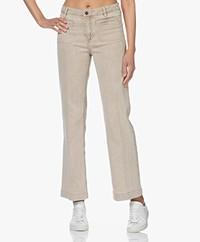 MKT Studio Paquita Straight Jeans - Beige