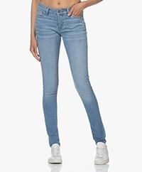 Denham Spray Super Tight Fit Jeans - Light Blue