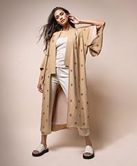 By Malene Birger Kimonia Lange Kimonoblazer - Tan