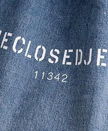 Closed Denim Shopper - Blue