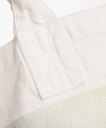 Ragdoll LA Holiday Palm Print Canvas Bag - Off-white