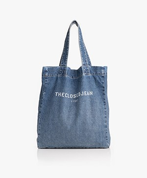 Closed Denim Shopper - Blauw