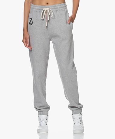 Zadig & Voltaire Steevy Cotton Sweatpants - Grey Melange