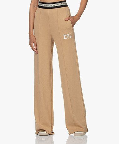 Dolly Sports Anna Katoenen French Terry Sweatpants - Camel