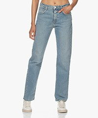 Closed Renton Bio-Katoenen Straight Jeans - Medium Blauw