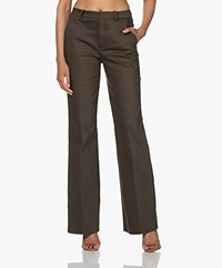 Drykorn Byde Cotton Blend Pants - Thyme