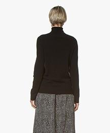 Repeat Luxury Cashmere Turtleneck - Black