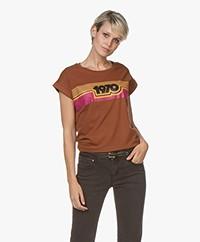 MKT Studio Tinesso Print T-shirt - Caramel