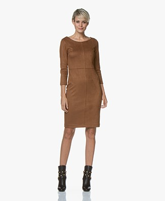 Kyra & Ko Aaf Suèdine Dress - Toffee