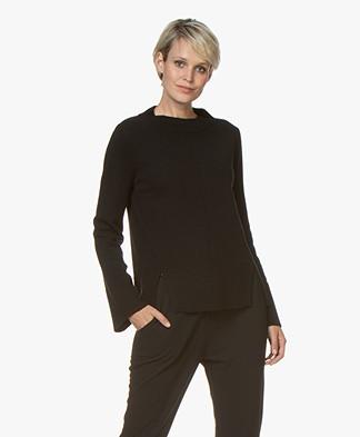 Josephine & Co Graham Wool Blend Sweater - Black