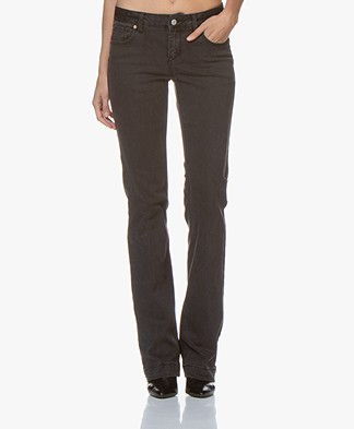 MKT Studio The Janis Power Flared Jeans - Garbage Wash