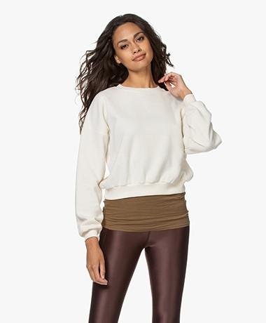 American Vintage Narabird Katoenen Sweater - Cocoon