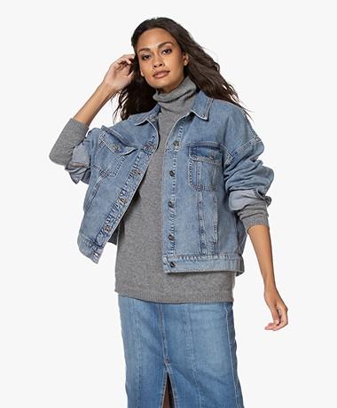 Denham Hampstead Oversized Denim Jacket - Vintage Indigo