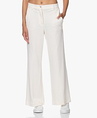 Josephine & Co Jurre Corduroy Jersey Broek - Off-white