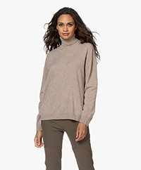 Closed Wool and Cashmere Turtleneck Sweater - Honey