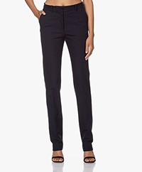 Joseph Cole Gabardine Stretch Pantalon - Navy
