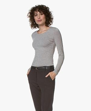 Belluna Ray Modal Long Sleeve - Greige