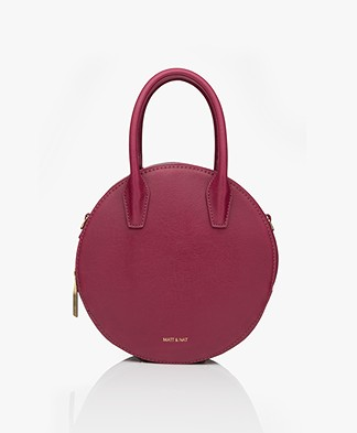 Matt & Nat Kate Small Vintage Schouder/Cross-body Tas - Garnet