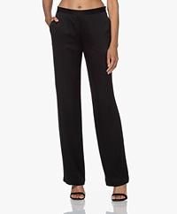 Filippa K Della Pantalon met Hoge Taille - Zwart