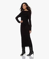 Filippa K Uma Lyocell-Cashmere Blend Dress - Black
