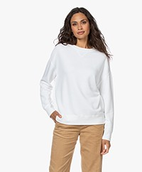 Vince Essential French Terry Sweatshirt - Optic White