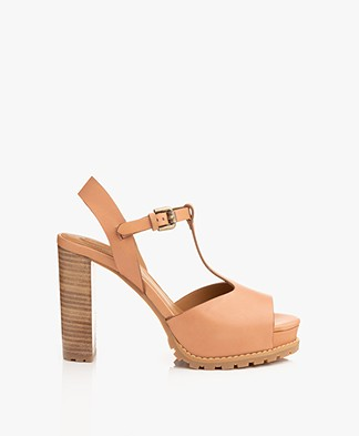 See By Chloé Brooke Block Heel Sandals - Sierra