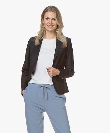 Filippa K Jackie Cool Wool Blazer - Donkerblauw